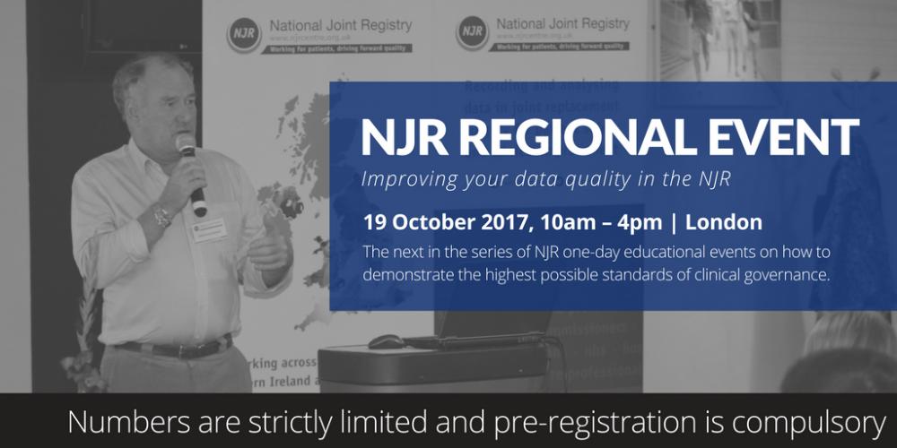 Regional event advert
